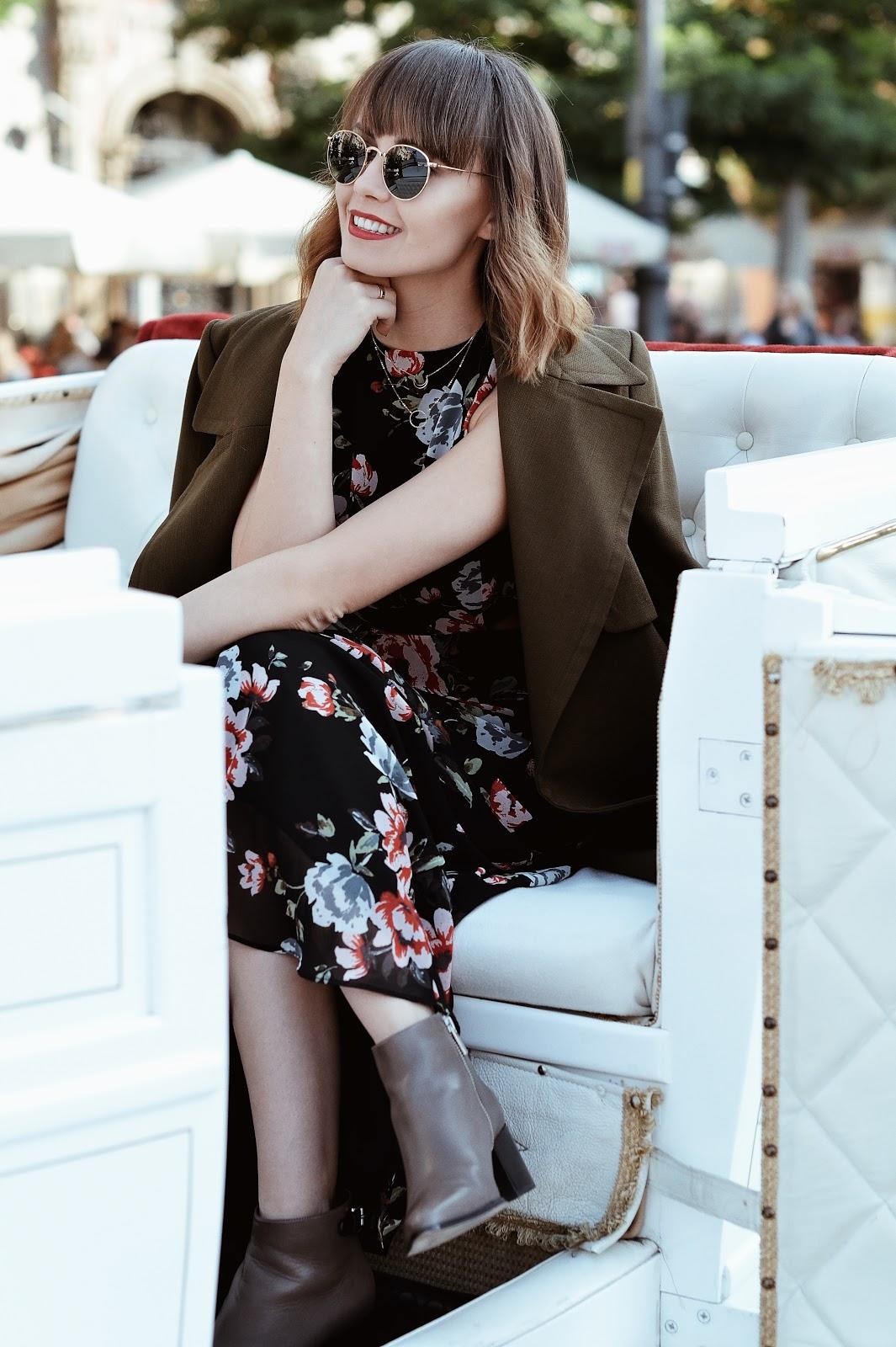 maxi sukienka | botki | blog o modzie | blog modowy | cammy
