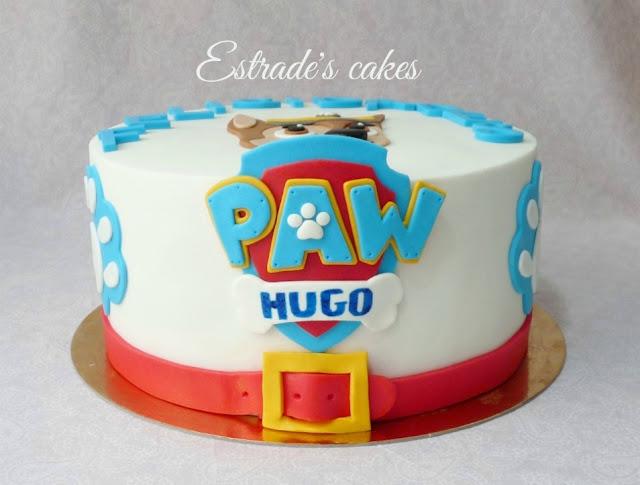 tarta de la Patrulla Canina 2