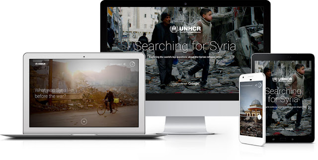 Google ve BM işbirliğiyle mülteci sorununa özel site