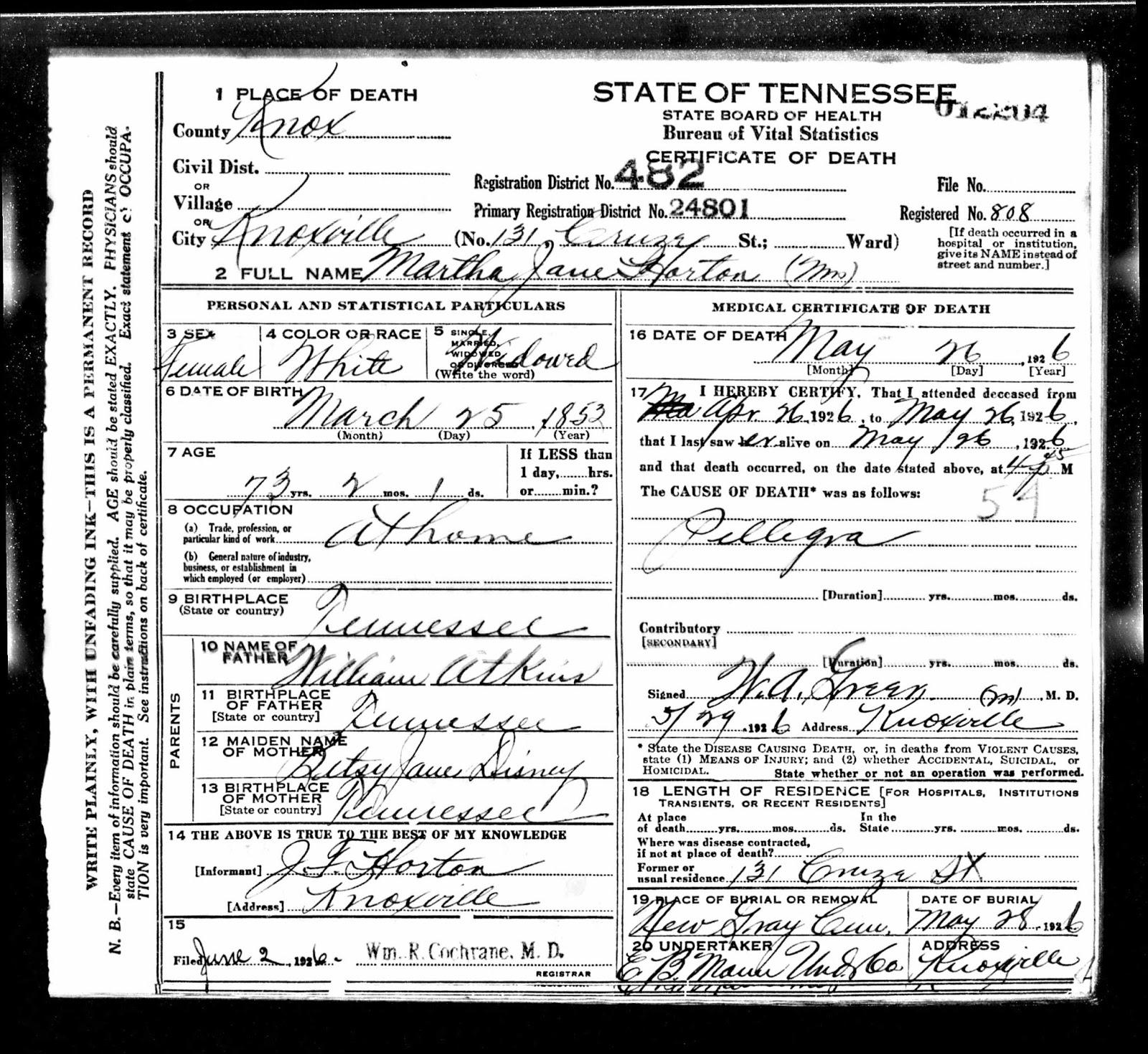 Tennessee Fortiethandplum
