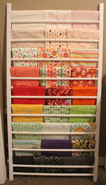 Henry glass fabrics six awesome fabric storage ideas for Where can you get fabric