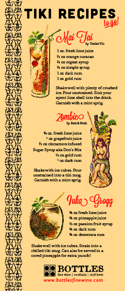 Tiki Cocktail Recipes