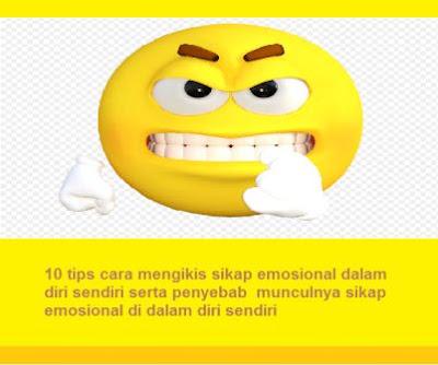 10 tips cara mengikis sikap emosional dalam diri sendiri serta penyebab  munculnya sikap emosional di dalam diri sendiri