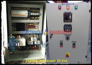 SERVICE PANEL ATS-AMF GENSET