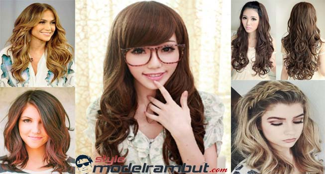 Model rambut panjang wanita