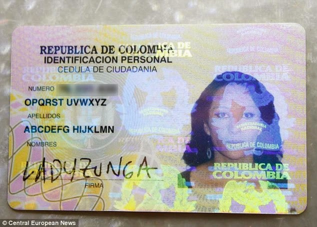 Photos: Strange Colombian  Woman Wins Fight to Change her Name to Abcdefg Hijklmn Opqrst Uvwxyz