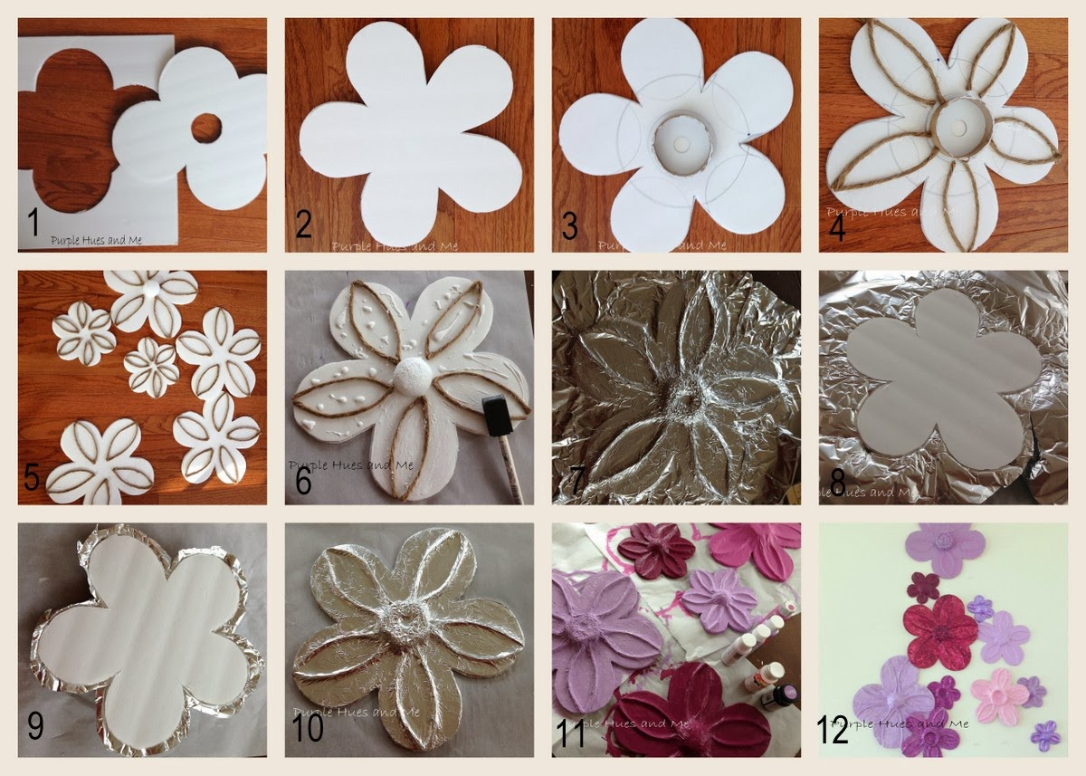 Diy Wall Flowers: -Crafting, DIY, Projects, Decorating