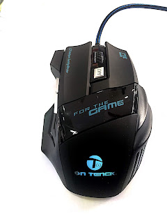 MOUSE GIOCO ON TENCK GAMING 3200DPI