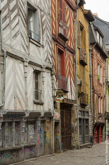 Viaje a Bretaña Francia capital Rennes turismo que ver