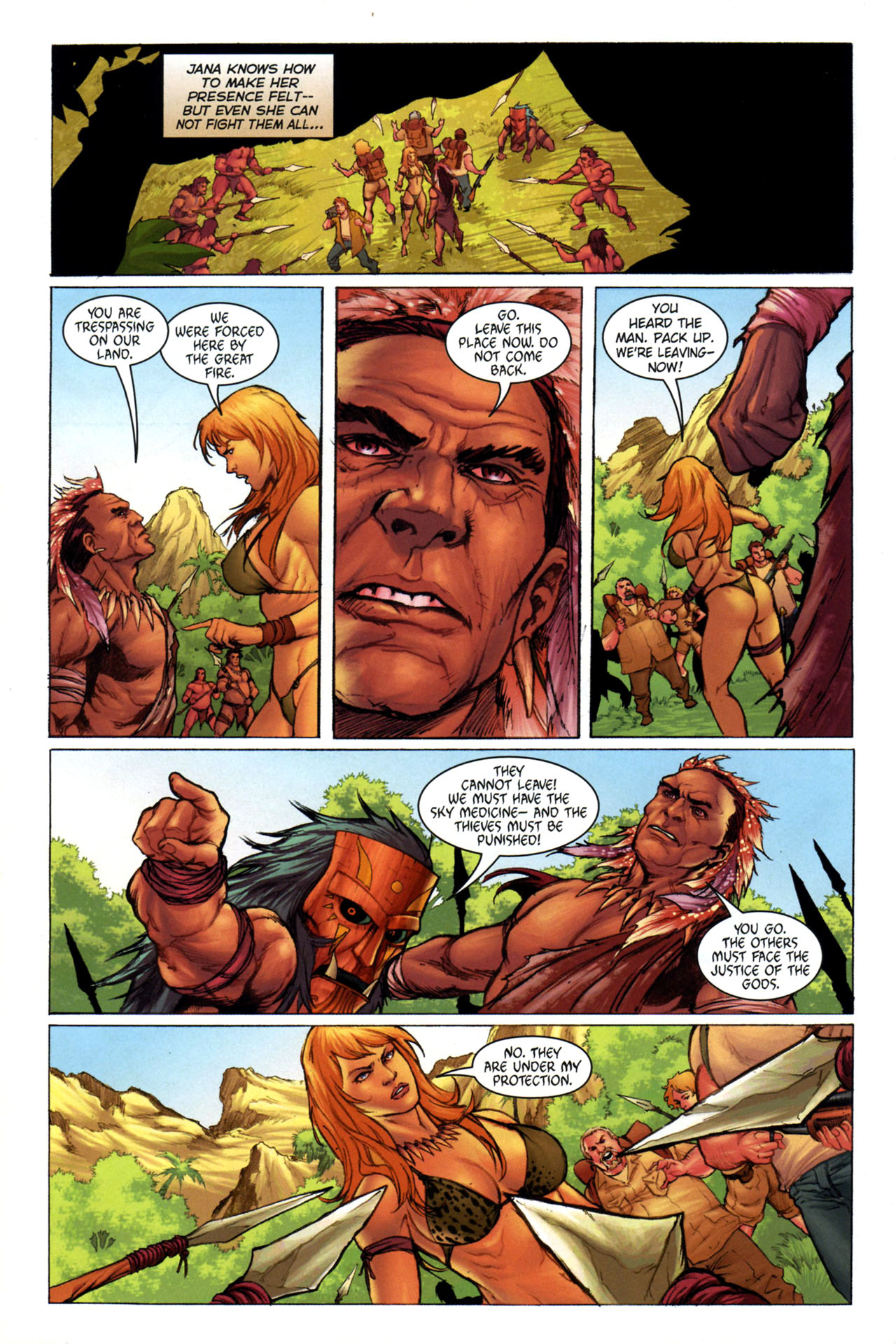 Read online Jungle Girl comic -  Issue #3 - 9