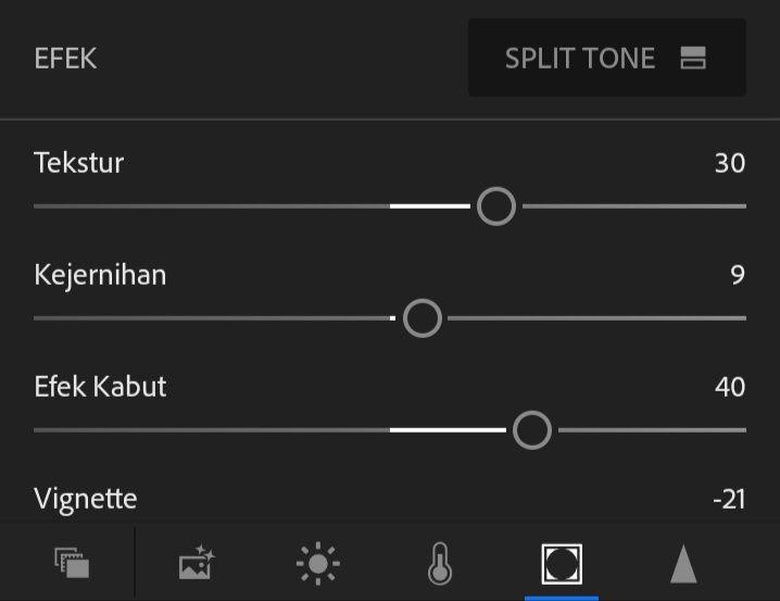 Membuat Efek Senja Dengan Aplikasi Lightroom