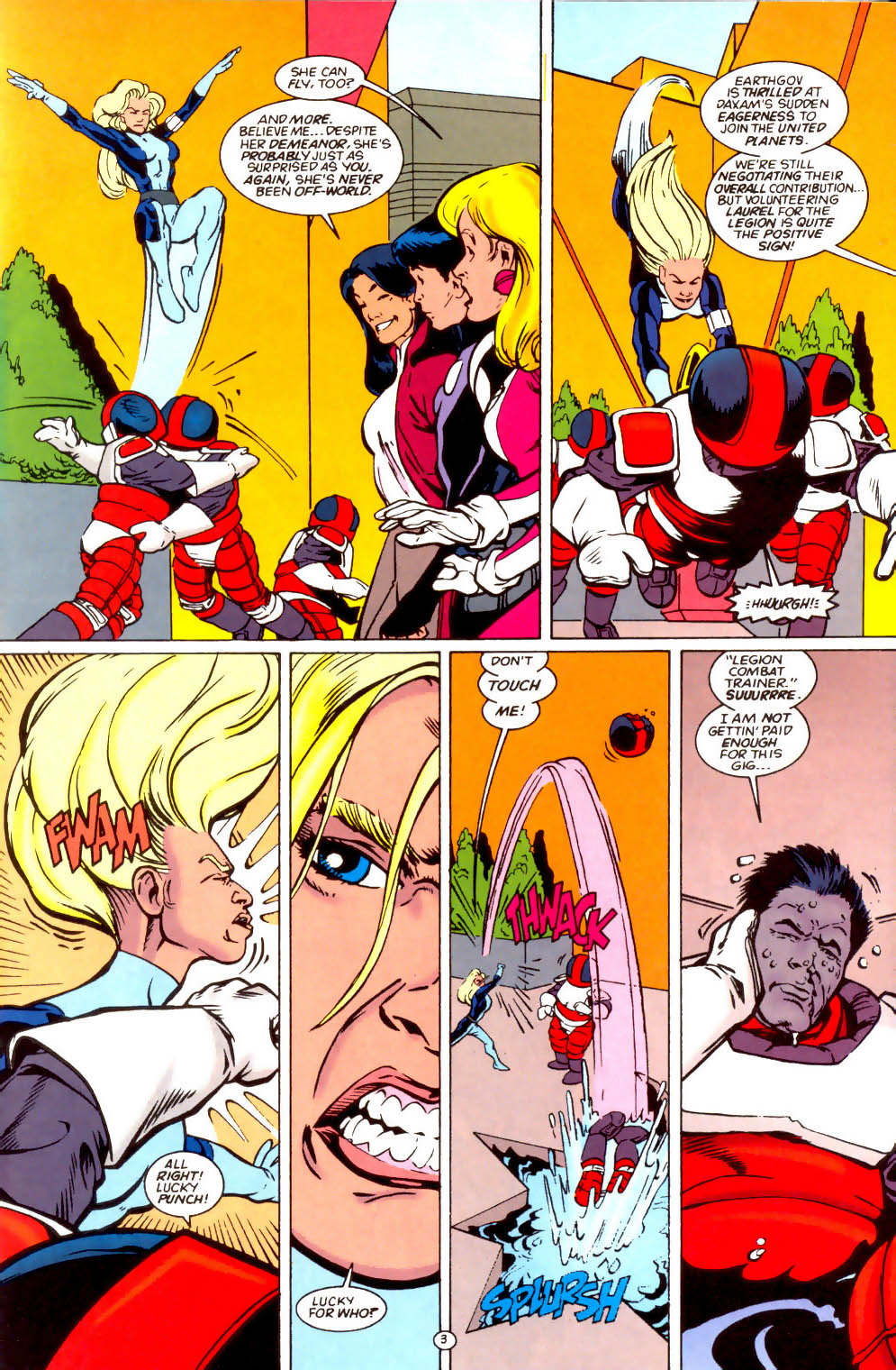 Legion of Super-Heroes (1989) 66 Page 3