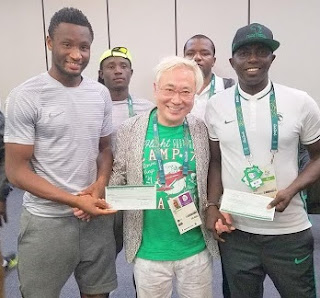 Mikel Donates Own Share of  $200,000 Gift From Japanese Billionaire To Teammates