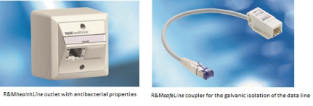 R&M Launches Antibacterial Cabling for Health Institutions