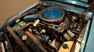 1968 Ford Mustang Shelby GT500KR Convertible Cobra Jet Ram Air Engine 02