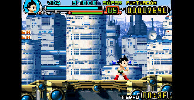 Astro Boy: Omega Factor - Español - Captura 6
