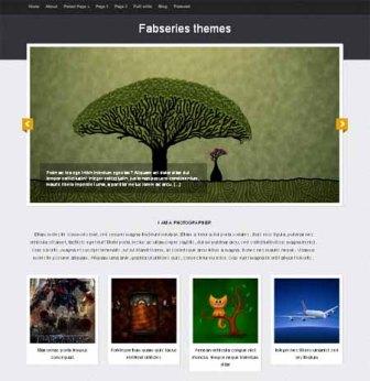 Free Tiara Fab Series - Portfolio WordPress Theme for Forphotographers or Artists