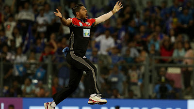 RCB Umesh Yadav Best Bowler HD Images
