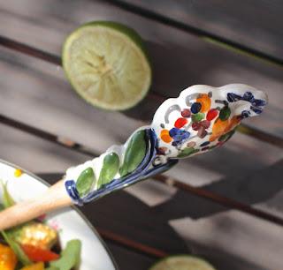 RECETA: Ensalada (o salsa) de mango y palta.