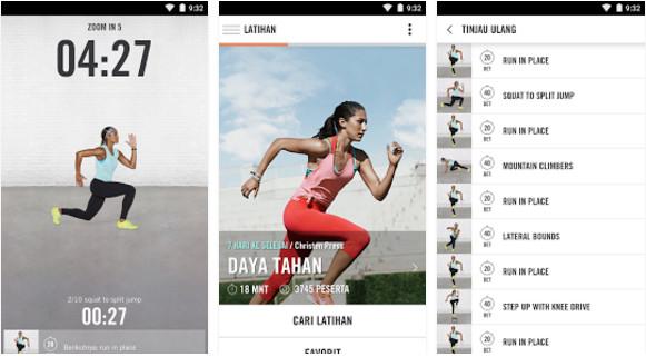 5 Aplikasi Olahraga Android untuk Wanita