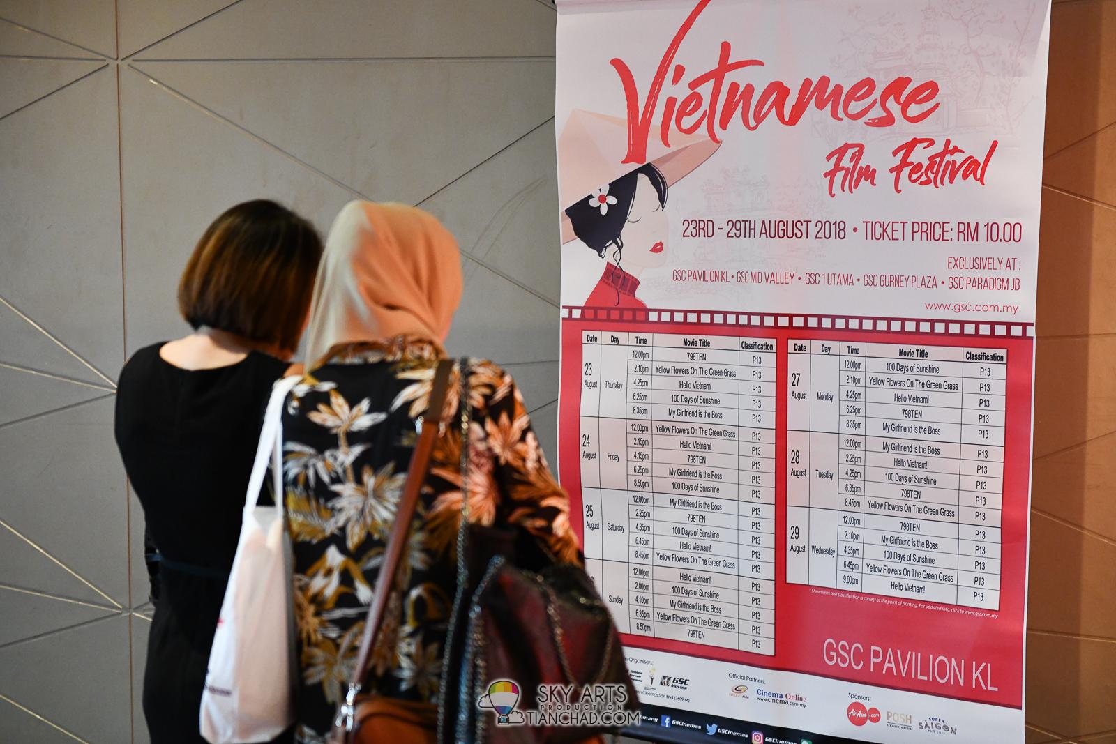 GSC Vietnamese Film Festival 2018 Launch @ Pavilion KL #GSCVFF18