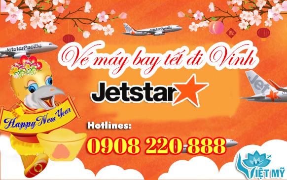 Vé máy bay tết đi Vinh hãng Jetstar Pacific