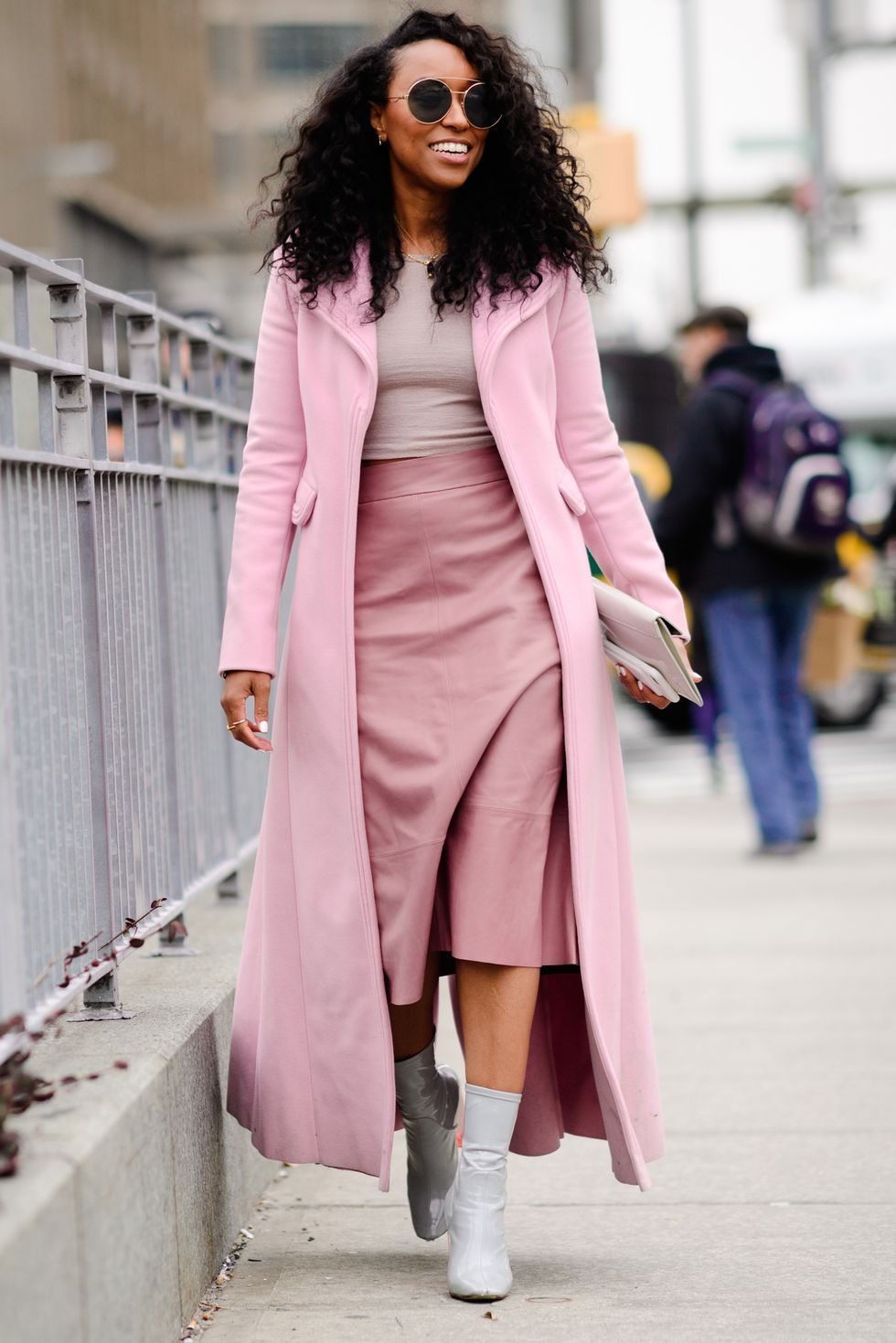 We're Totally Inspired By This Chic Monochromatic Look