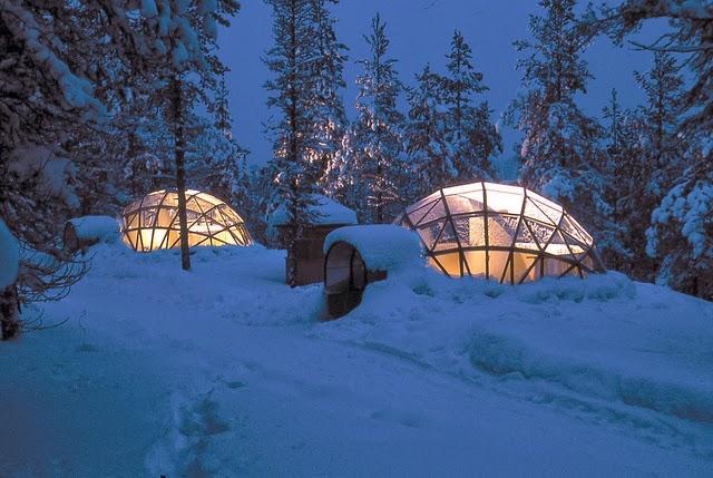 Hotel Kakslauttanen Finlandia Lapponia