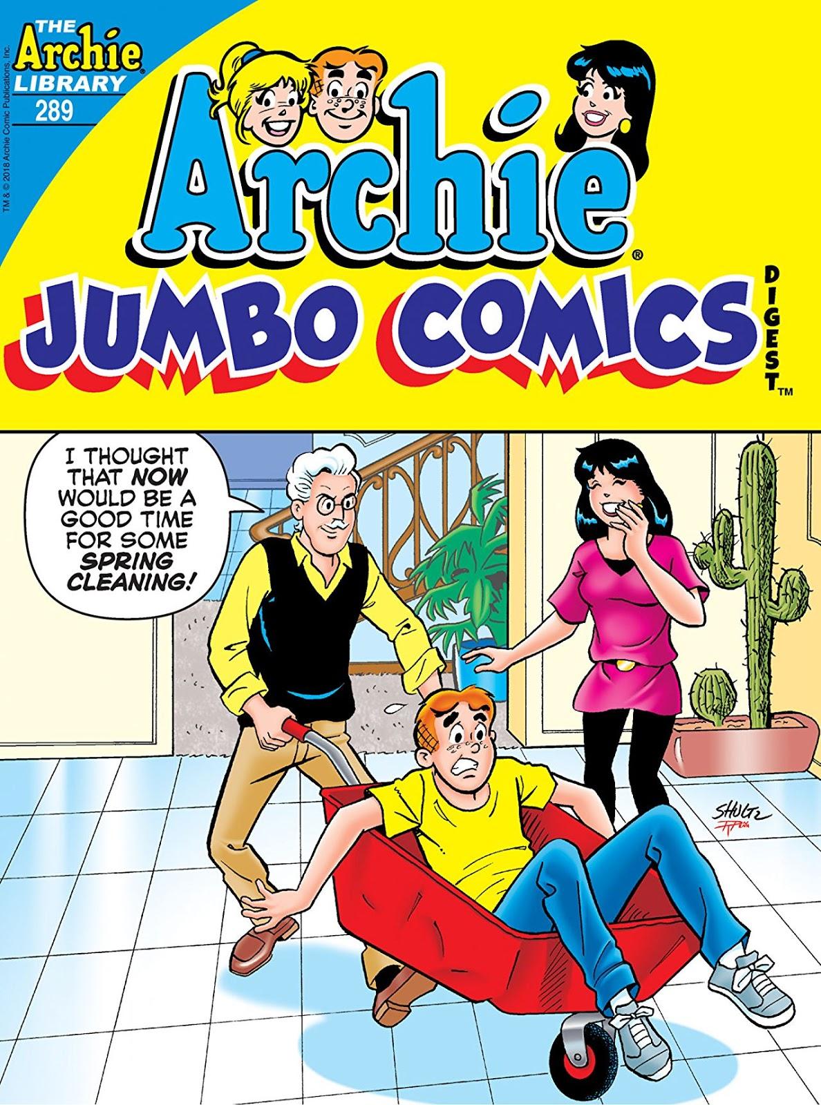 Archie Comics Double Digest 289 2018 Forsythe Dcp