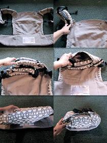 Sushibee Fun With Babywearing Photos How To Fold A