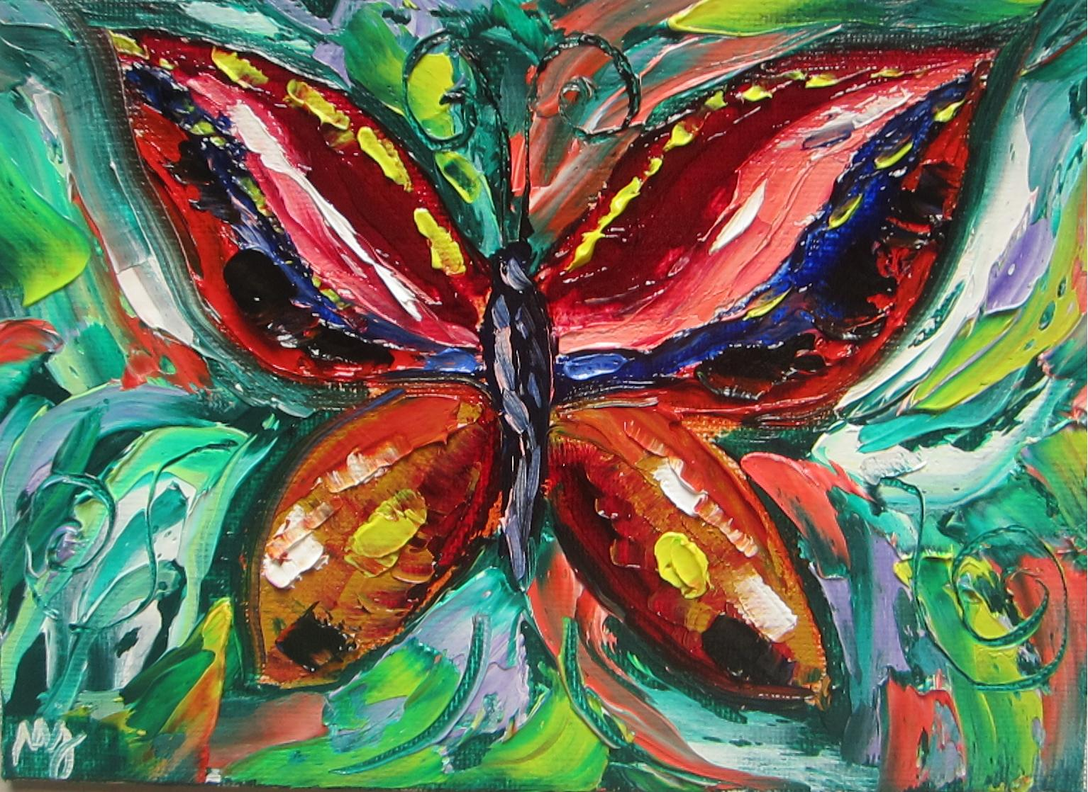 Butterfly Artists Paintings