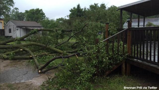 More Global Floods & Violent Storms Wyoming-storm-damage-0622151