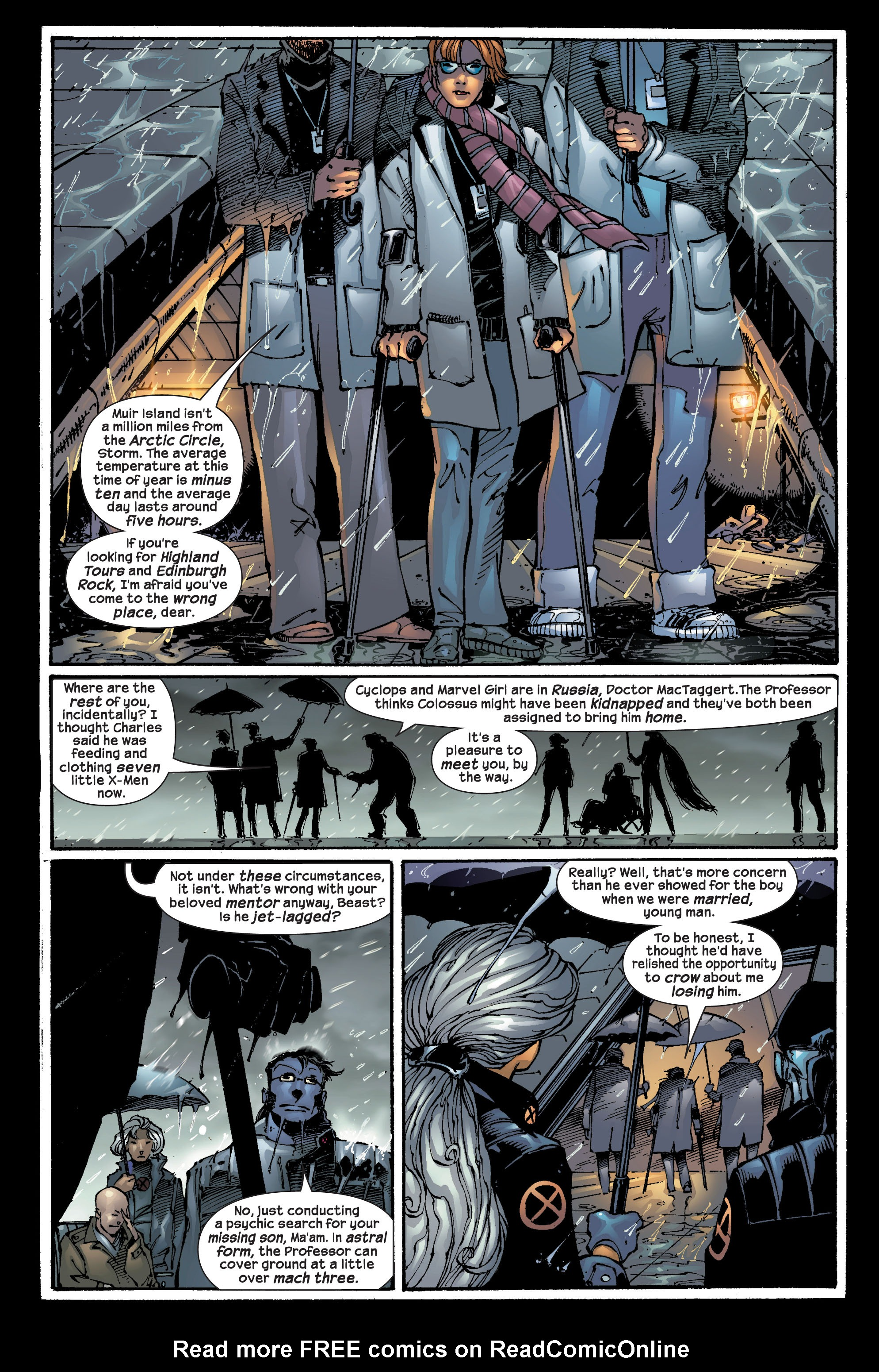 Read online Ultimate X-Men comic -  Issue #17 - 4
