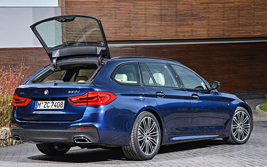 2018 Bmw 5 Series Touring Not Ugly