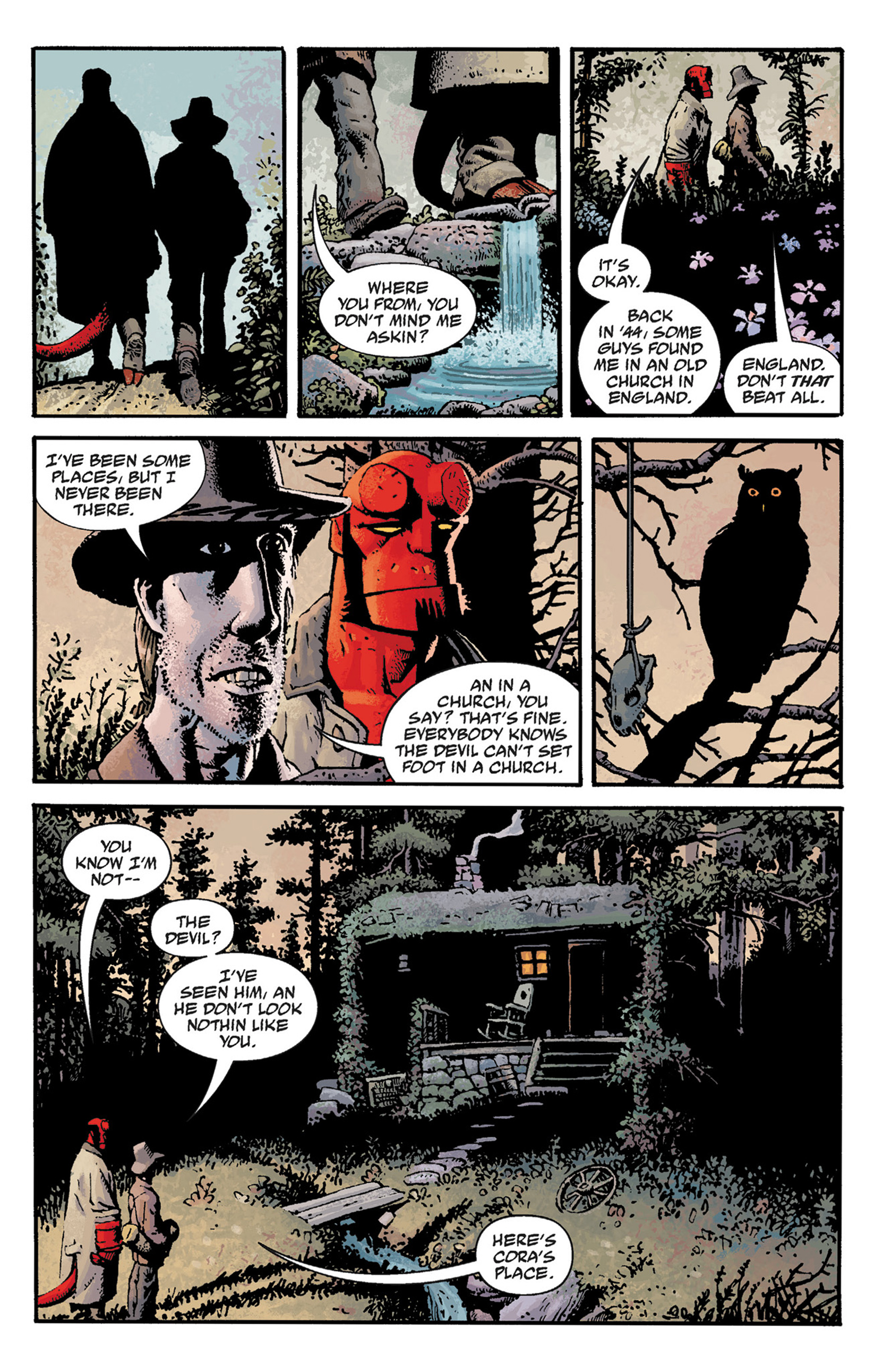 Read online Hellboy: The Crooked Man and Others comic -  Issue # TPB - 15