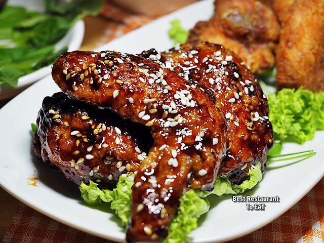 ECO WINE KUCHAI LAMA - Snack Menu - Marmite Chicken Wings