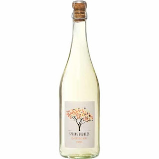 A stock image of Spring Bubbles Sweet Wine bottle