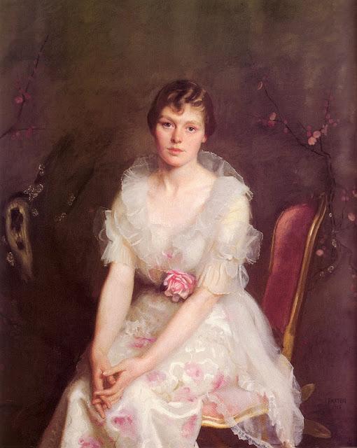 William McGregor Paxton - Portrait of Louise Converse