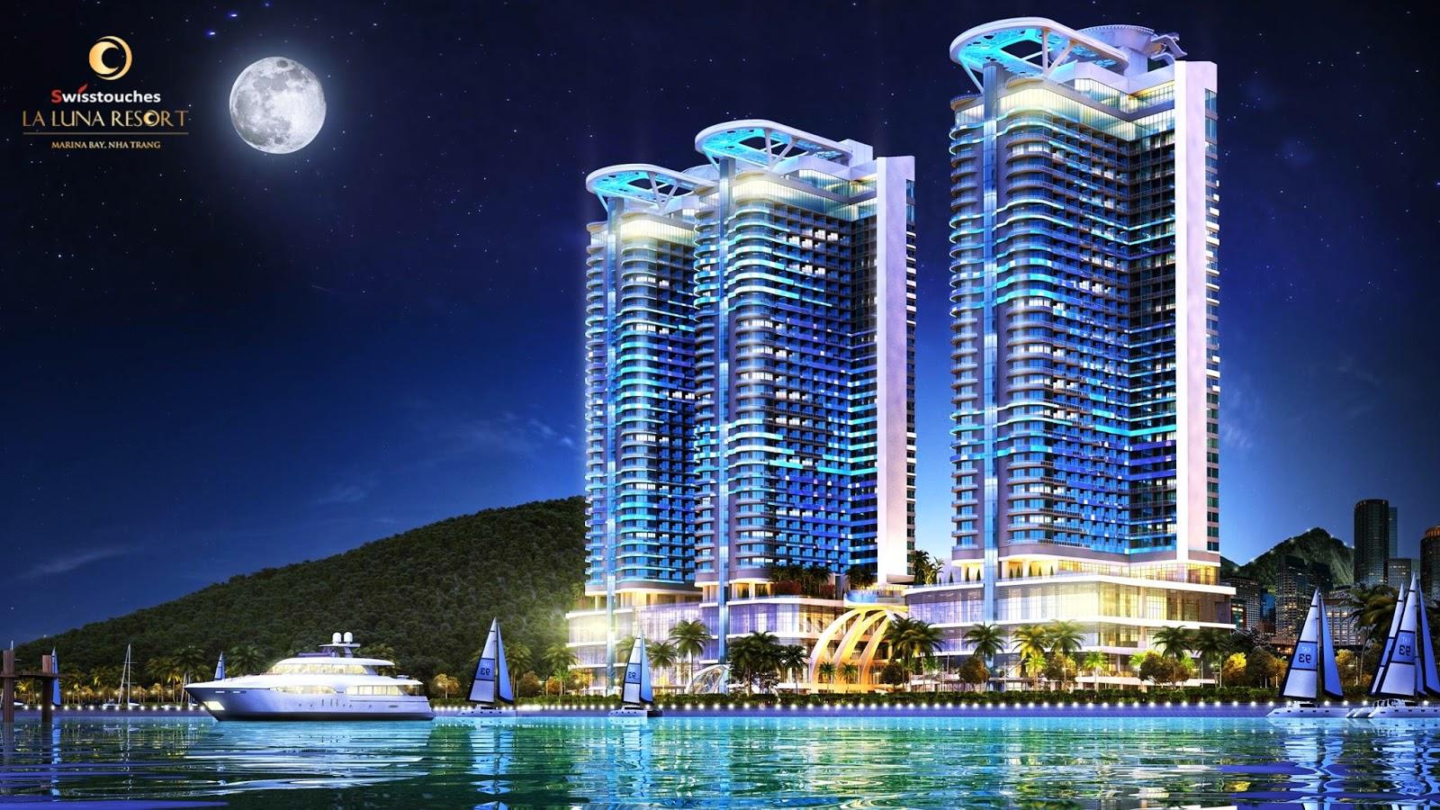 Phối cảnh dự án La Luna Nha Trang