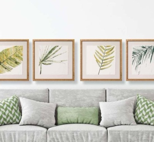 Tropical Island Staples For The Living Room Prints