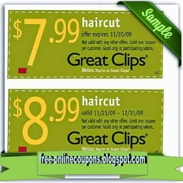 Great clips discount coupons 2018