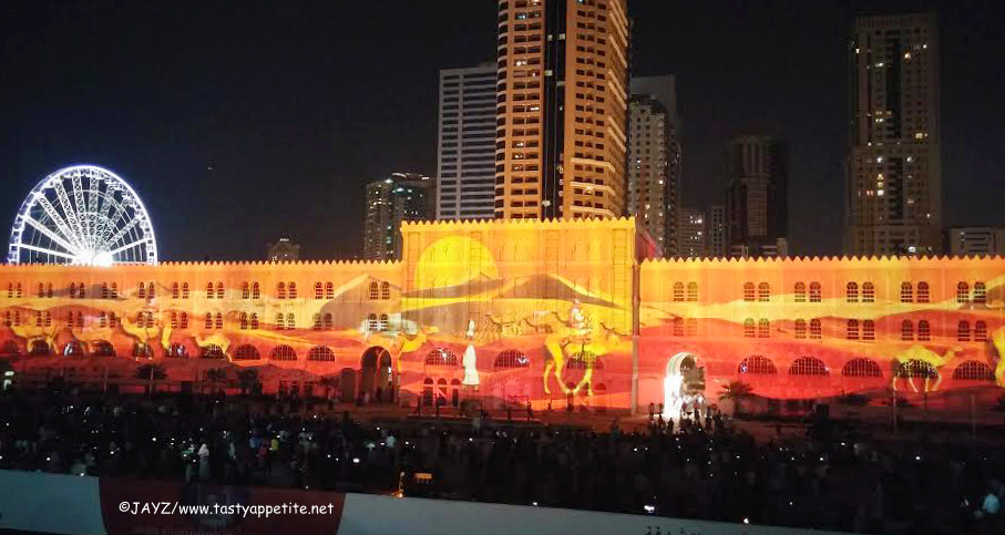 Light Show Sharjah 2015