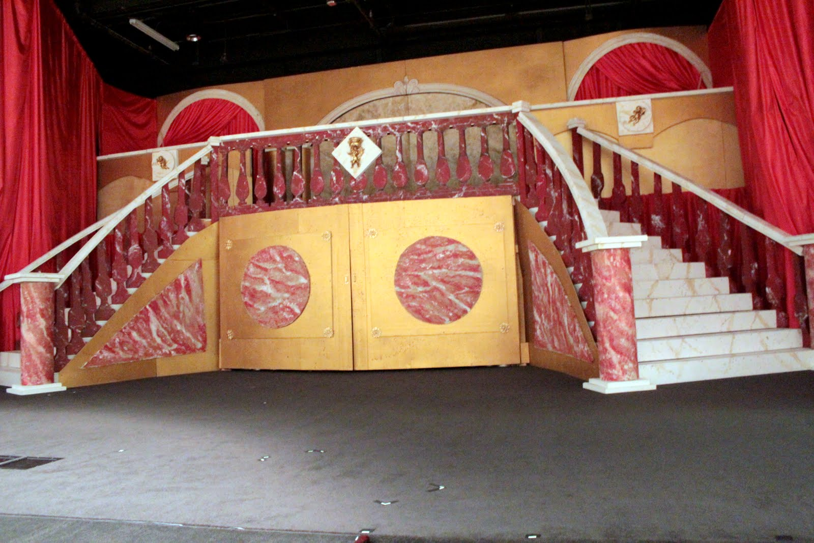 Curved Stairs Art Of Theatre Tags Custom Stair Builder Design Diagram Now A Case Is Really Nothing More Than Just Cutting Boards From Plywood And Then Attaching Them To Your Stringers