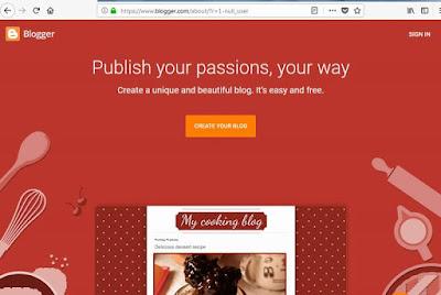 Cara Mudah Membuat Blog Sendiri