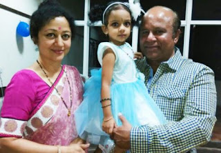 Vinaya Prasad Family Husband Parents children's Marriage Photos