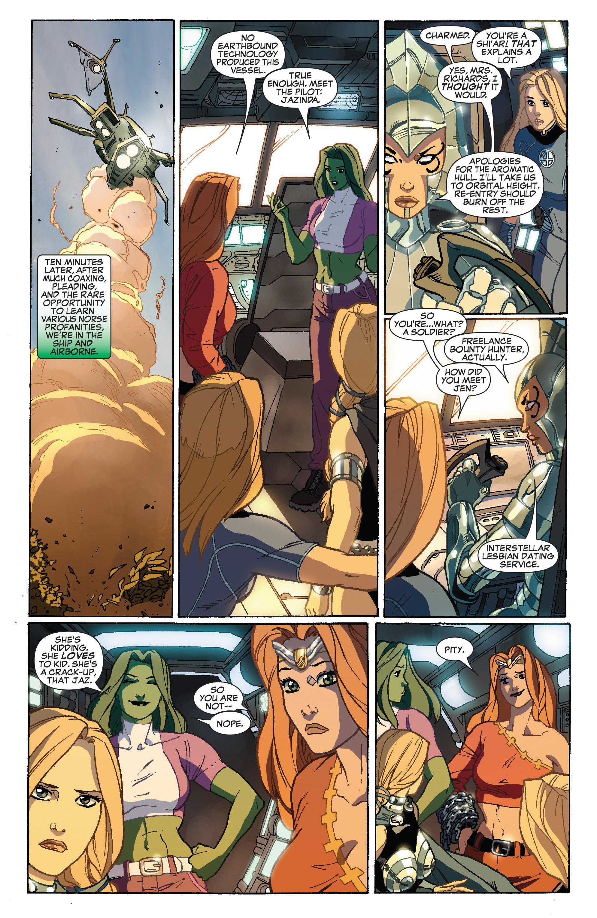 Read online She-Hulk (2005) comic -  Issue #34 - 18