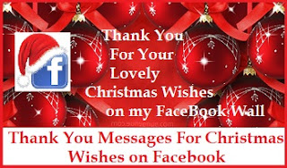 Christmas thank you messages thank you messages for christmas so you got lovely and thoughtful christmas greetings from your facebook fans well sending a thank you message to all your facebook followers and friends is m4hsunfo