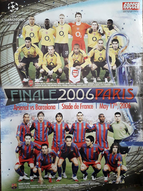 ARSENAL VS BARCELONA FINALE 2006 PARIS