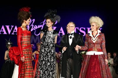 25ª edición de la Mercedes-Benz Fashion Week Russia en Moscú 3