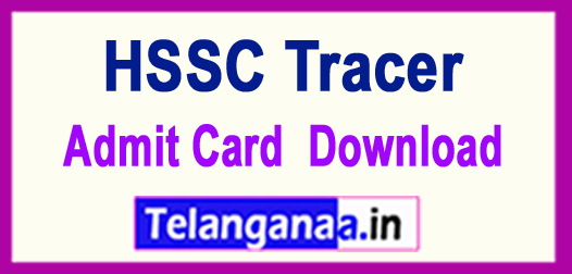 HSSC Tracer 2018 Admit Card Download